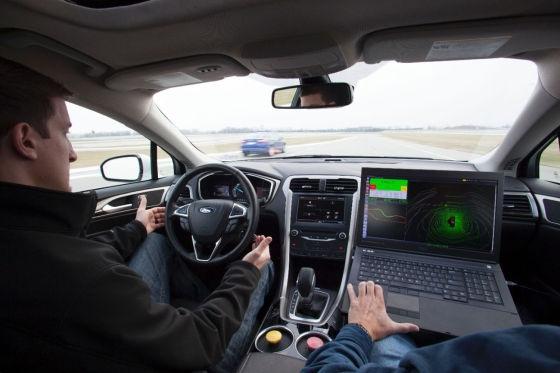 福特发布首款自动驾驶汽车原型车