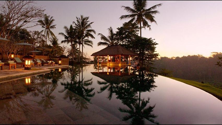 巴厘岛乌布区,阿曼达利度假村