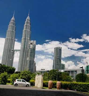 曾经的世界最高建筑,马来西亚双子塔