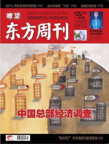 中国总部经济调查