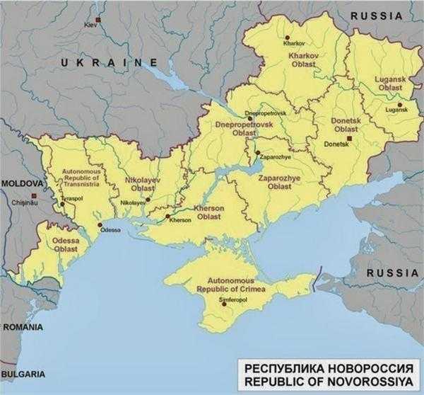 前苏联地图与俄罗斯地图比较