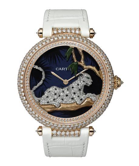 盘点六款最美女士手表:钻石珠宝必不可少