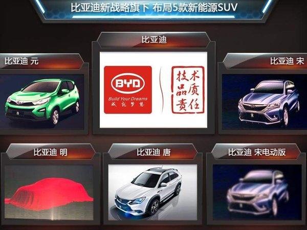"""混合动力""""为主,覆盖轿车、suv以及mpv三种车型.按照目前的高清图片"""