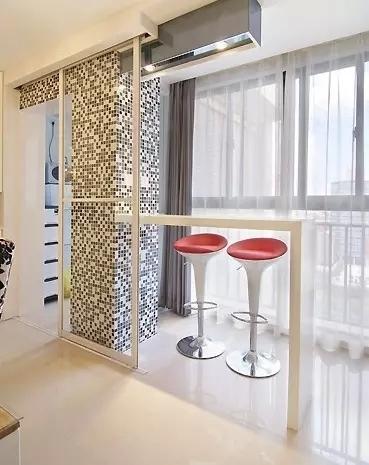 小户型家庭吧台设计:我想和你温柔地喝个酒