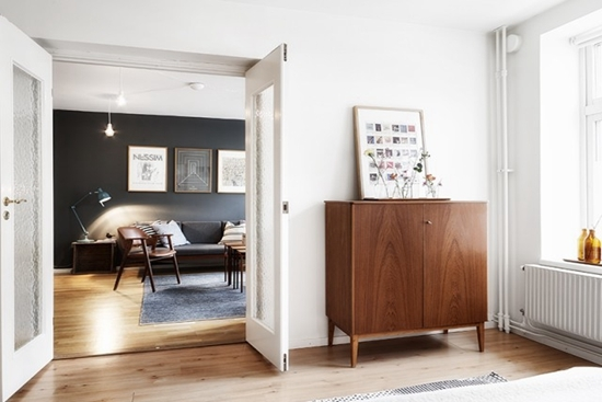 小户型装修 经典北欧黑白灰公寓设计