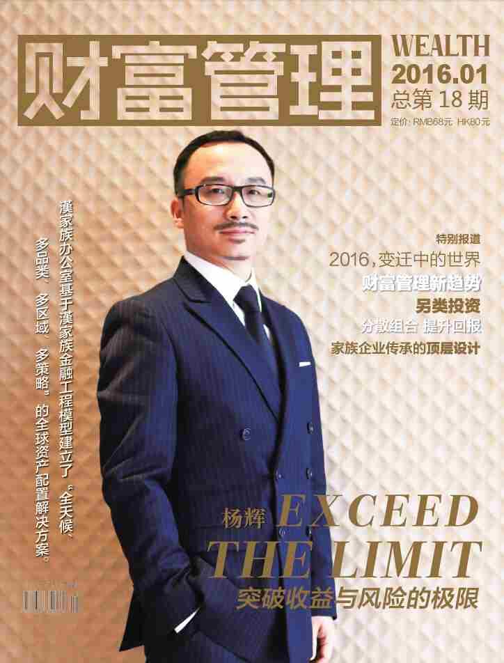 杨辉:突破收益与风险的极限