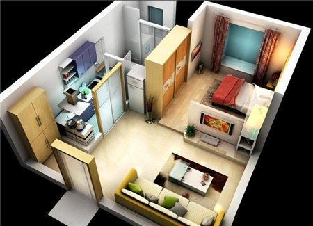 第一,整体形状方正,整体形状方正的意思,不是整套房子是一个完整的方形,而是各个房间和功能区域的形状是方正的矩形。同时整套房子看起来也大致是个矩形,同时允许有一些溢出来的边角。
