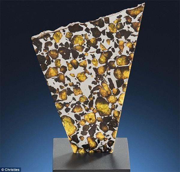 罕见巨型陨石将亮相拍卖会:估价达3170万元