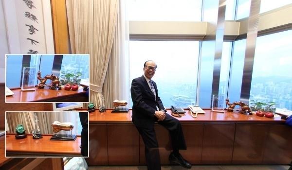 7位商界大佬办公室:李嘉诚最神秘王健林最艺术