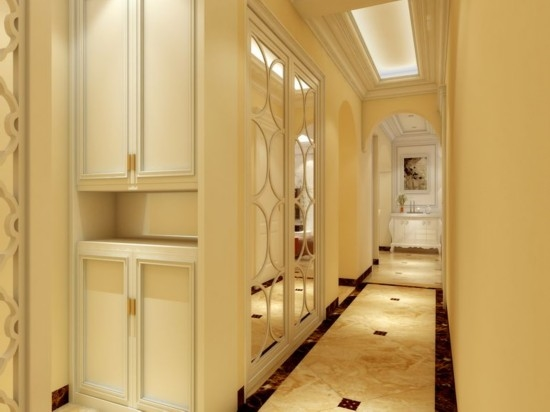 70平米二居室新婚时尚装修 3套小户型装修效果图