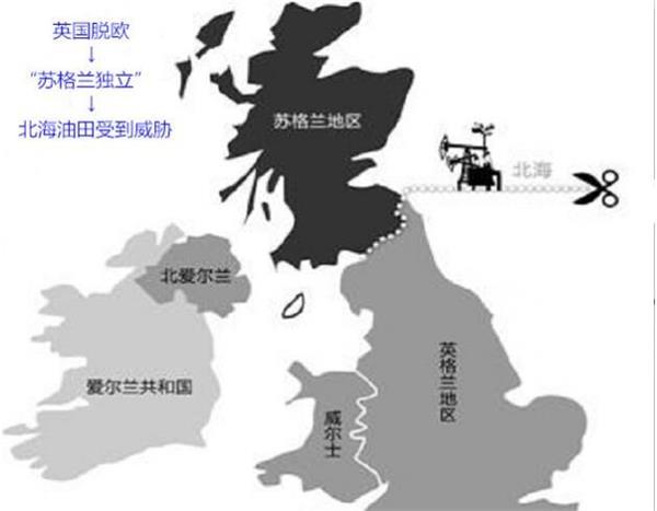 北部和大不列颠岛之间
