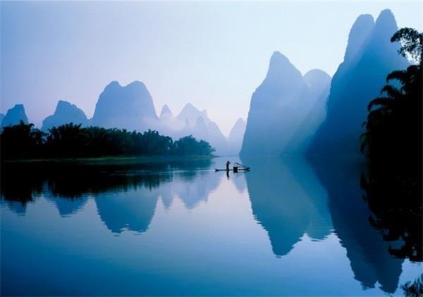 人民币上真实的风景 去桂林看最美山水