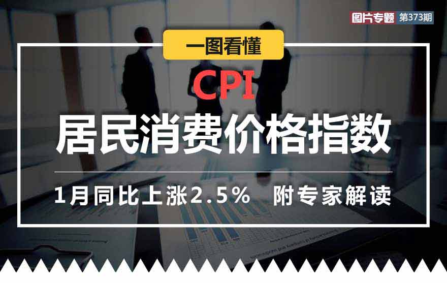[图片专题373]图解1月居民消费价格指数CPI(附全解读)