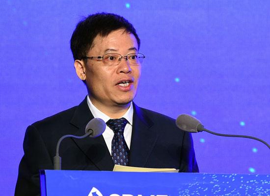 上海市政府副秘书长金兴明发表致辞