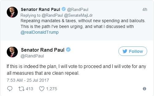 参议院获得多数投票支持美元绝处逢生