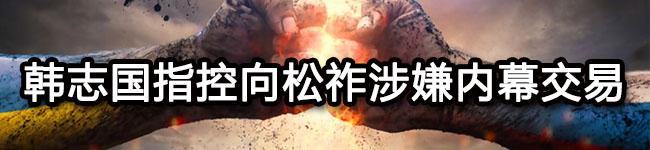 韩志国指控向松祚涉嫌内幕交易