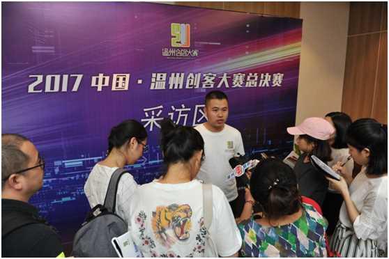 3D打印机创新研发与产业化项目负责人薛迪强