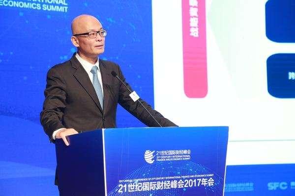 """港交所董事总经理毛志荣: 让香港为""""一带一路""""跨境战略投资提供新支点"""