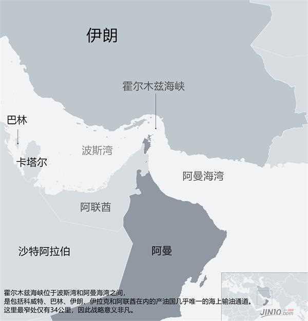 伊朗集结百艘舰船在霍尔木兹海峡搞大军演 真能关闭这个海峡?