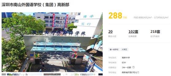 而此前,深圳学区房暴涨的消息便已持续受关注。