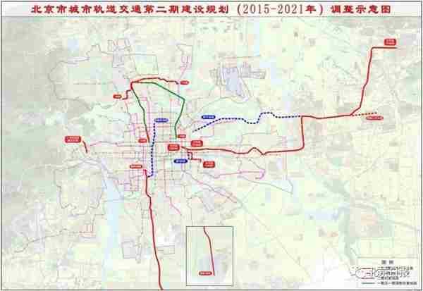 北京5条地铁规划调整 这些地方成最大受益区图片