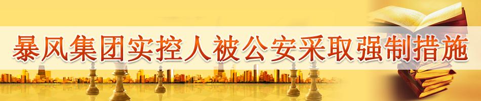 暴风集团冯鑫被公安采取强制措施