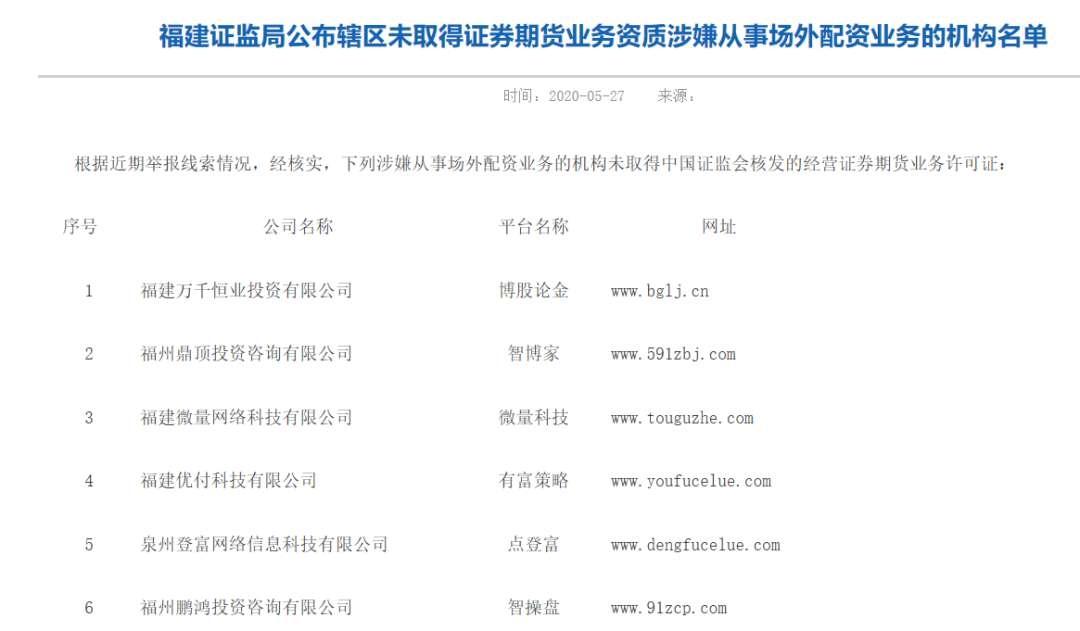 杠杆高出10倍 两天百家机构上黑名单!上海、广东等证监局警示场外配资风险