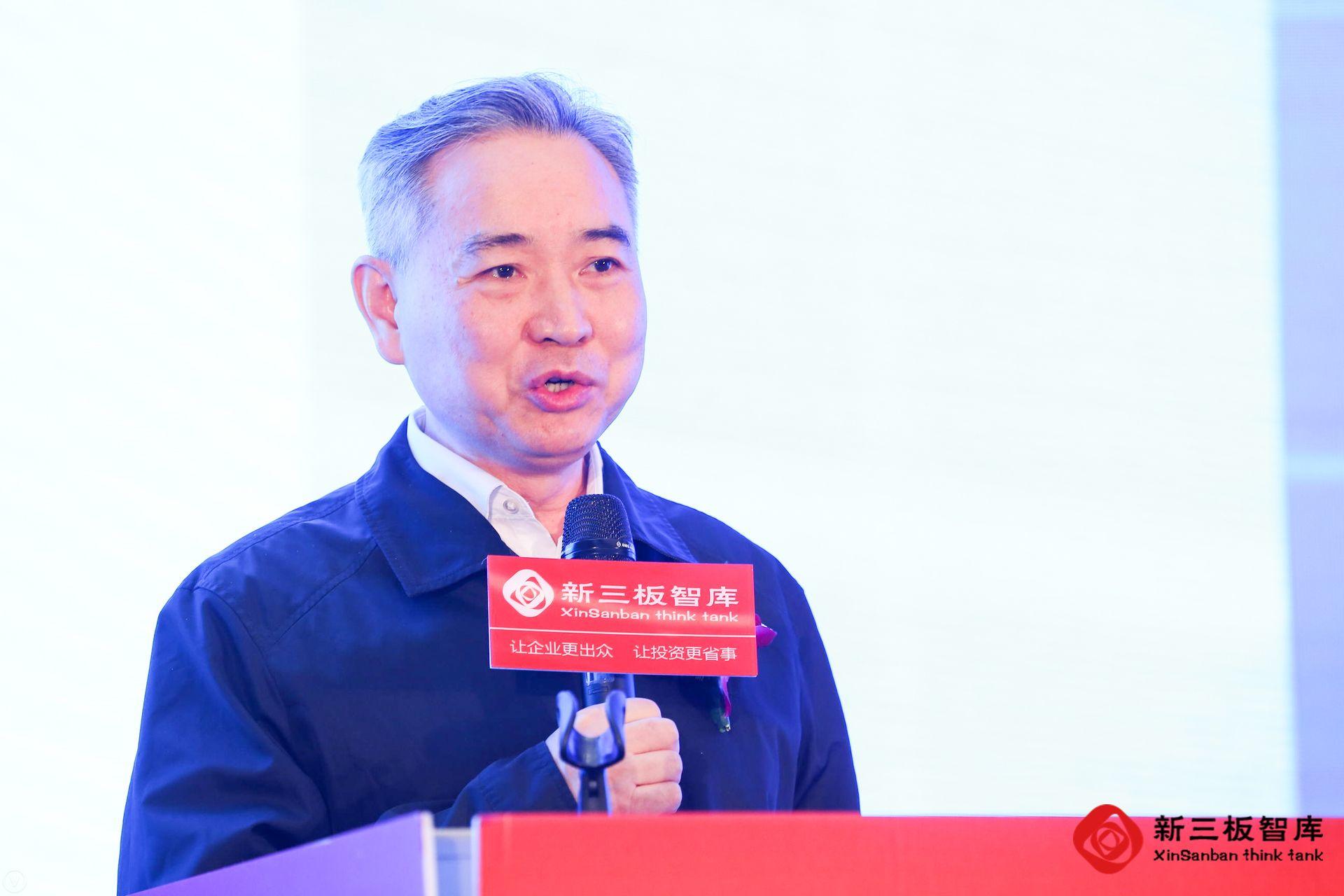 国家发改委中国国际经济交流中心副总经济师 徐洪才博士