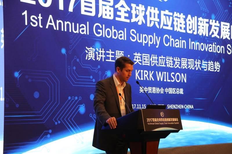 英中贸易协会中国区总裁Kirk Wilson