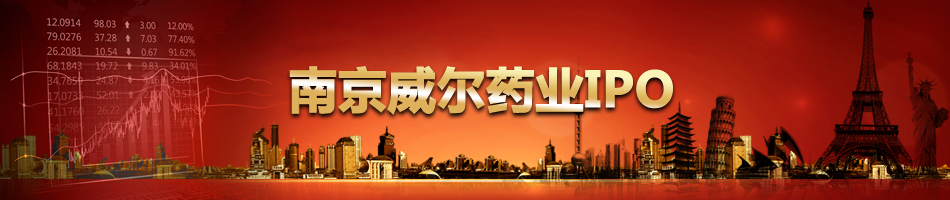 南京威尔药业IPO