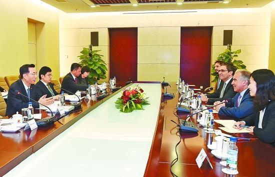 中石油副总会见切尼尔能源总裁 就LNG合作交换意见