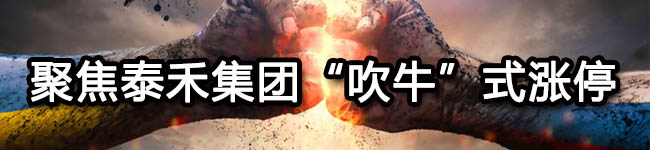 """聚焦泰禾集团""""吹牛""""式涨停"""