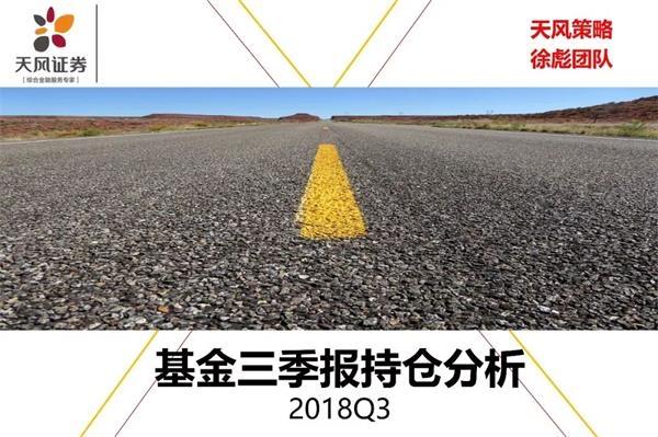 """基金三季報持股分析:金融""""守正""""成最后防線"""