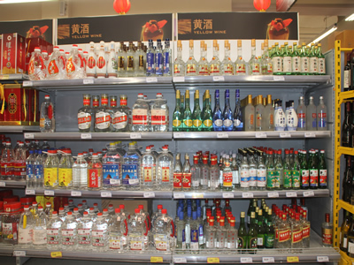 Liquor stocks plummeted