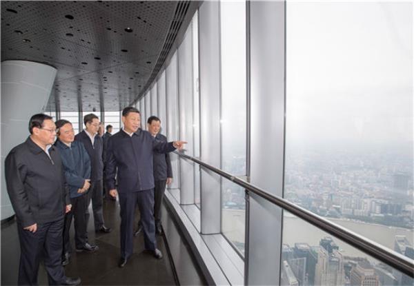 东风浩荡 潮涌浦江——习近平总书记考察上海纪实