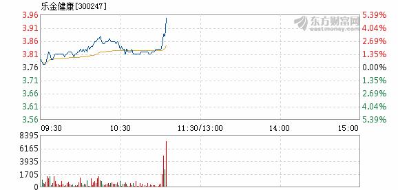 乐金健康11月21日快速上涨
