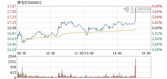 伊戈尔12月20日快速上涨