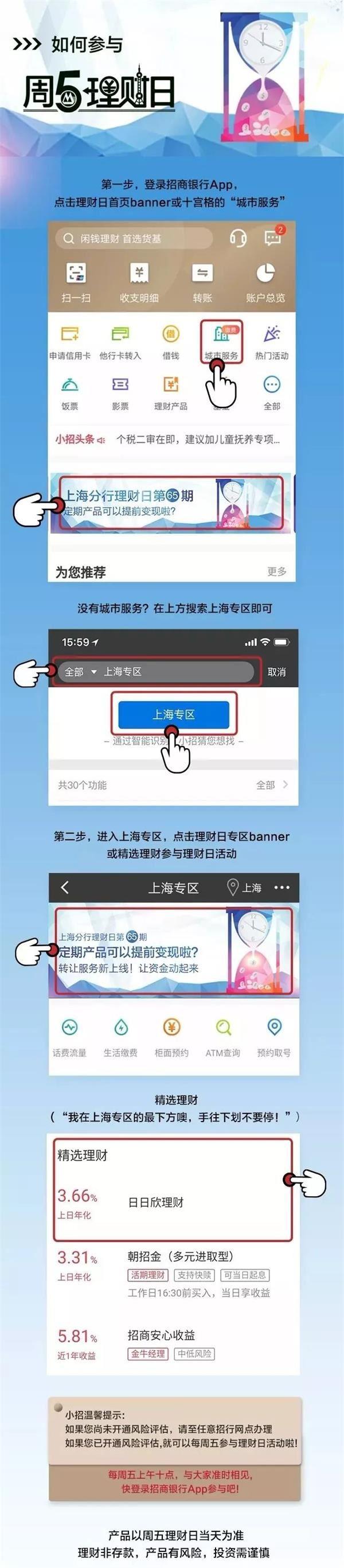 (图片来自招行上海分行微信公众号)