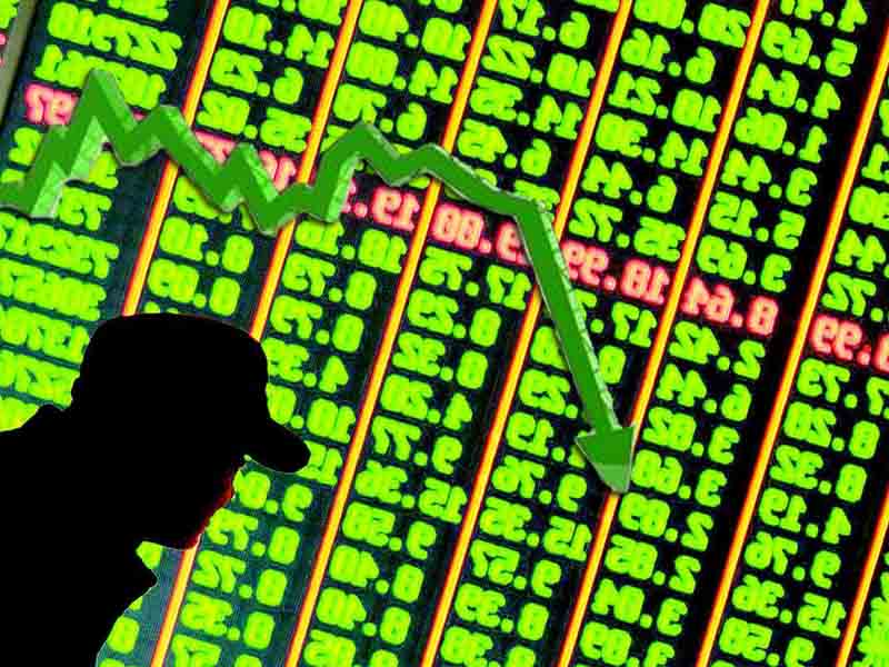 Global stock market suffers heavy losses