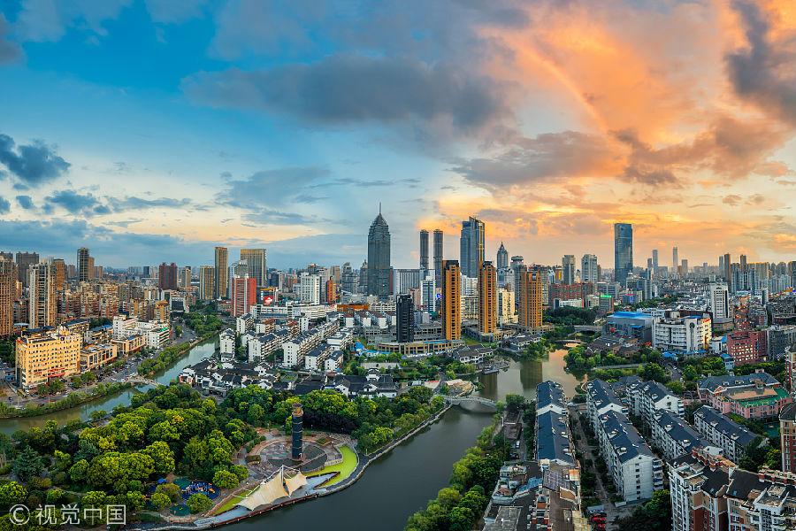 中国人口密度最大的省份江苏 人均GDP高居中国各省市首位