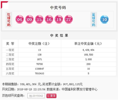 双色球070期:头奖13注643万 奖池9.07亿