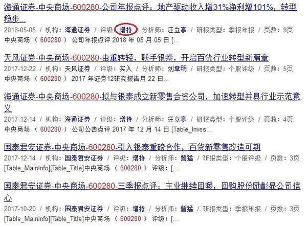 研报来源:同花顺网站