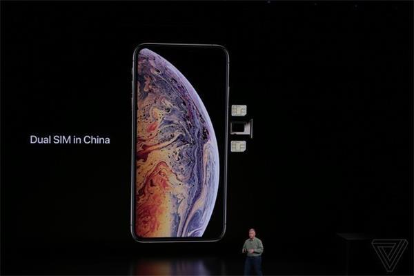 苹果iPhoneXS系列支持双开双待:中国还有特别版