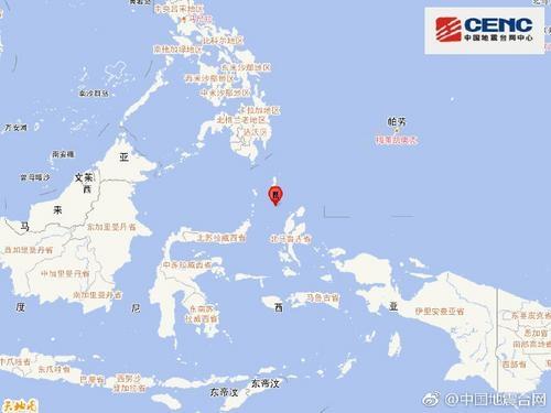 印尼马鲁古海发生5.2级地震震源深度30千米