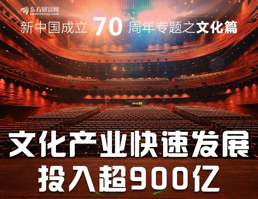 [图片专题771]文化产业年投入超900亿