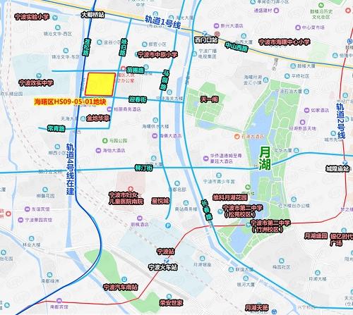 华润竞得海曙核心区天一阁西侧地块 成交总价9.69亿元