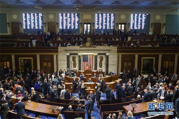 (国际)(2)美国会众议院通过针对特朗普的弹劾调查程序决议案