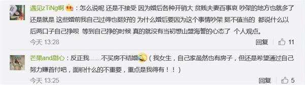 """""""你接收租房完婚吗""""?1亿浏览刷屏 网友批评炸锅了"""