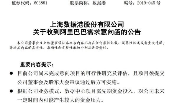 温州新闻热线:大利好!阿里24.4亿大单砸来 这家公司回声涨停 打击百亿市值  1 第2张