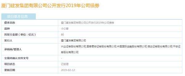 厦门建发集团申请发行80亿元公司债券已获受理-中国网地产